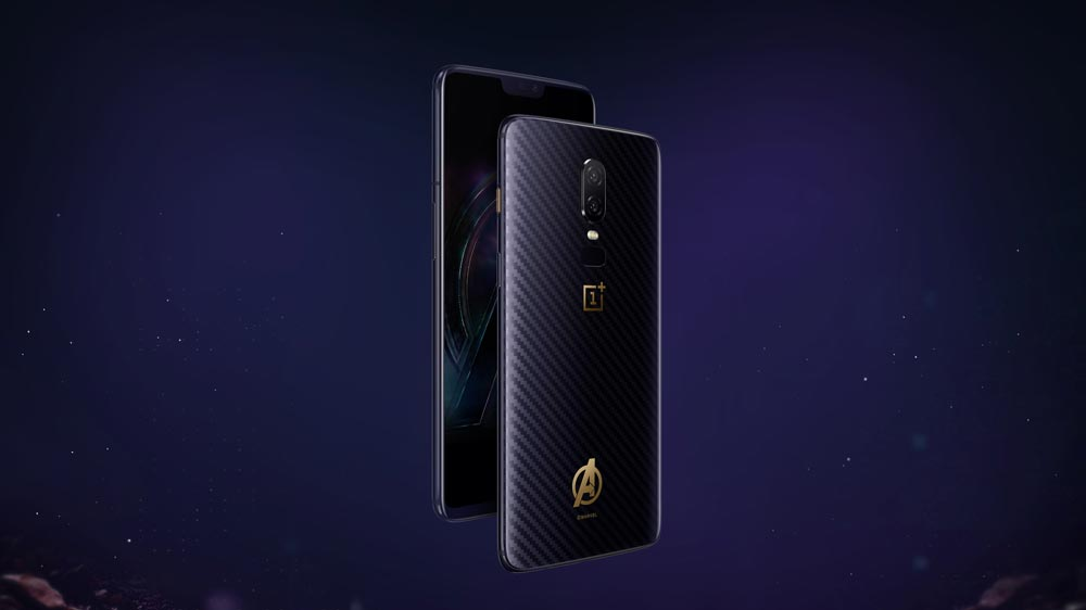 OnePlus 6 Launches Marvel Avengers Limited Edition