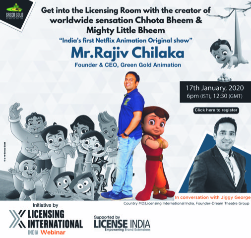 Listen to the creator of Chhota Bheem talk about his success story
