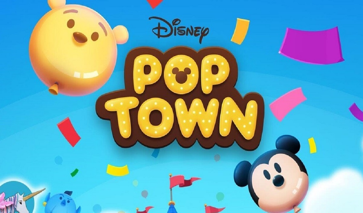 Pre-Registration for Mobile puzzle game 'Disney POP TOWN' now open for its Thailand Release