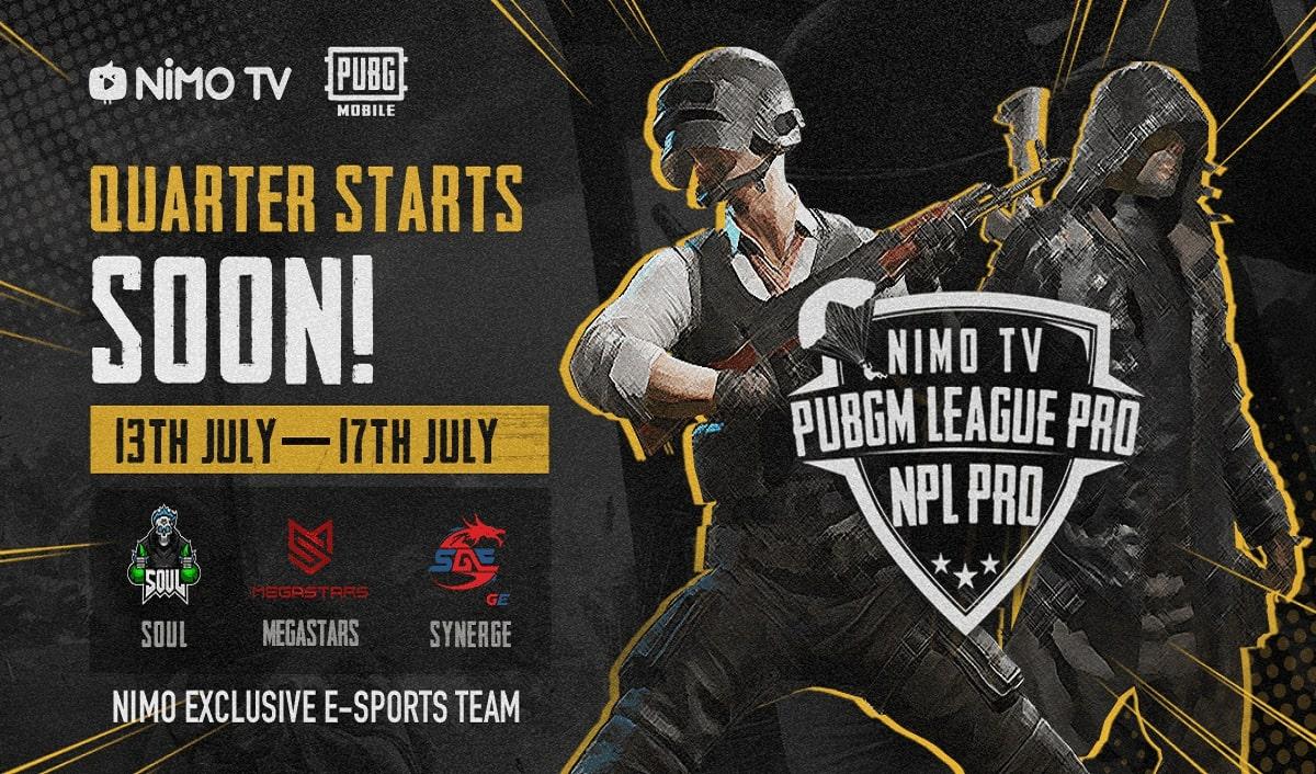 NPL Pro 2020- PUBG Mobile League Pro on Nimo TV