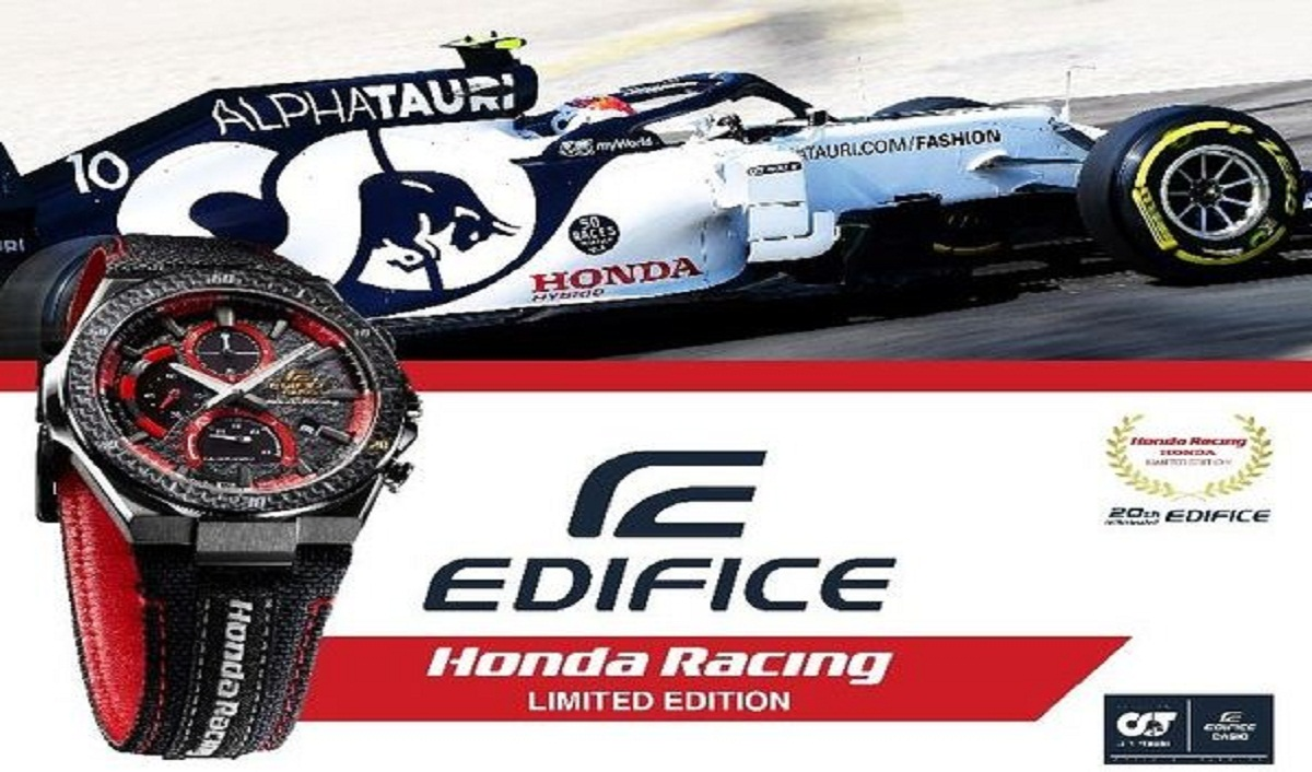 Casio to Release EDIFICE Collaboration Model with Honda Racing