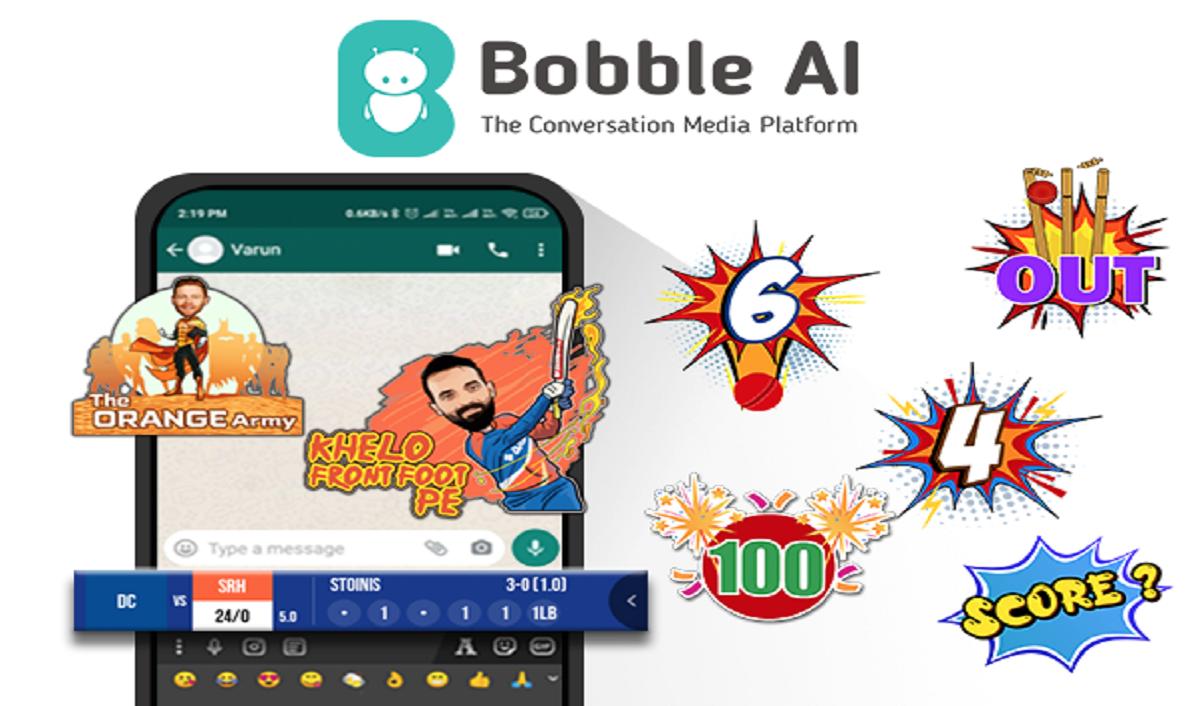 Bobble AI introduces IPL Score Bar on Bobble Indic Keyboard