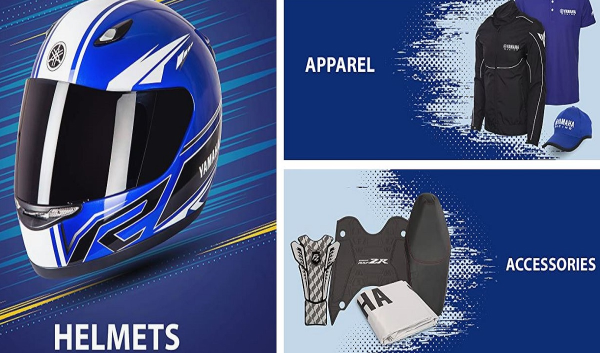 Yamaha apparels and accessories are now available on Amazon.in