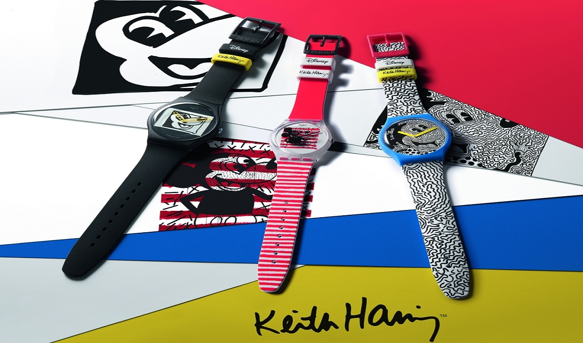 Swatch Brings A New Collection With Disney Micky Mouse & Keith Haring
