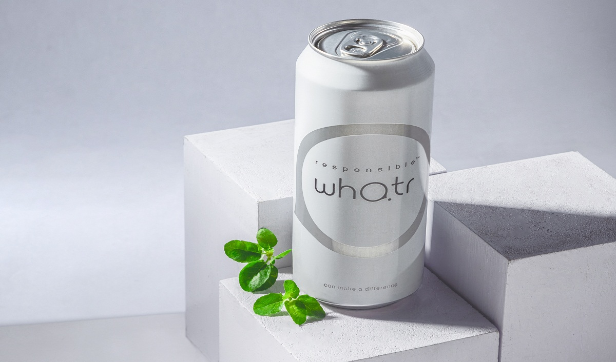 Responsible Whatr Launches Spring Water in Aluminium Cans