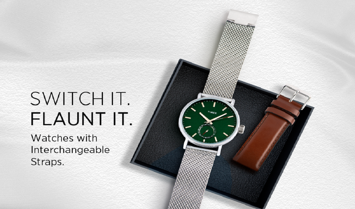Timex Brings New SWITCH IT UP Collection