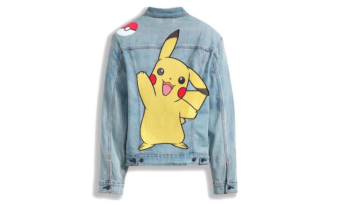 Levi's, Pokemon Collaborate to Bring the '90s-Inspired Collection
