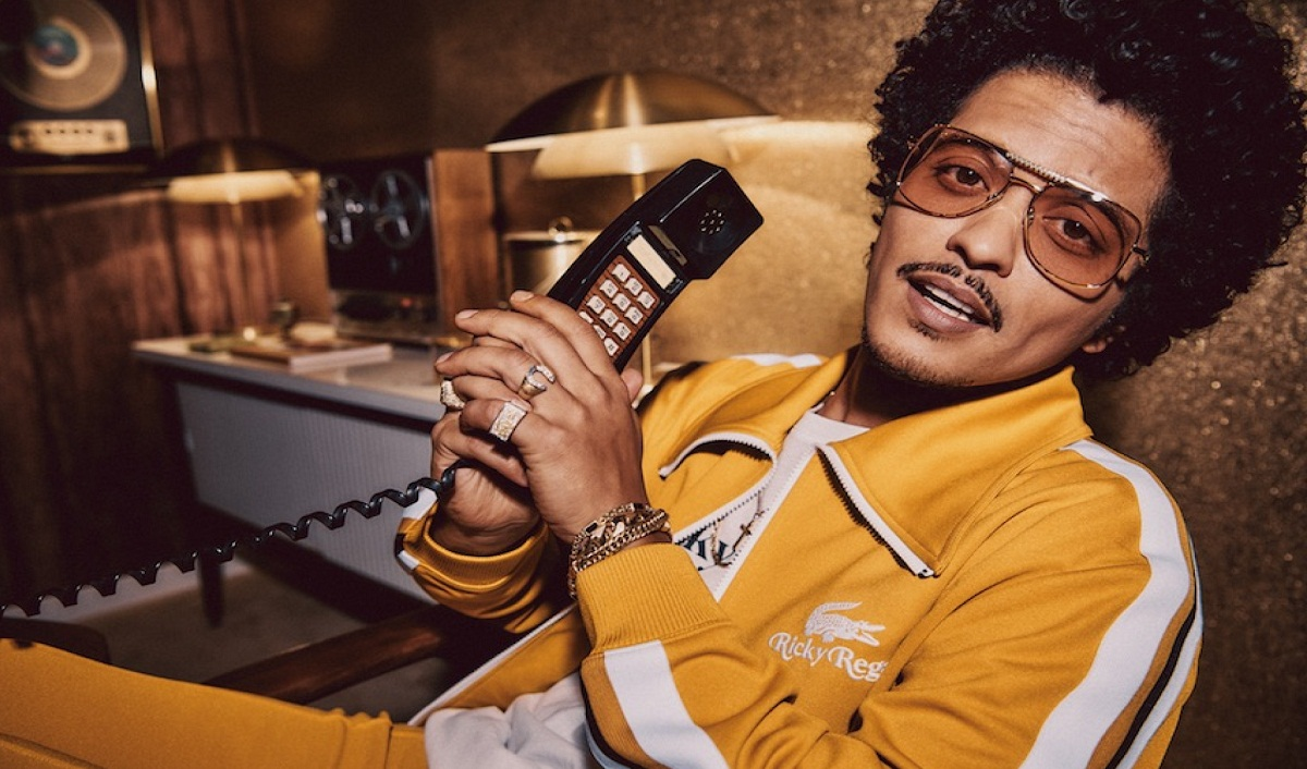 Bruno Mars Ventures into Fashion with Lacoste
