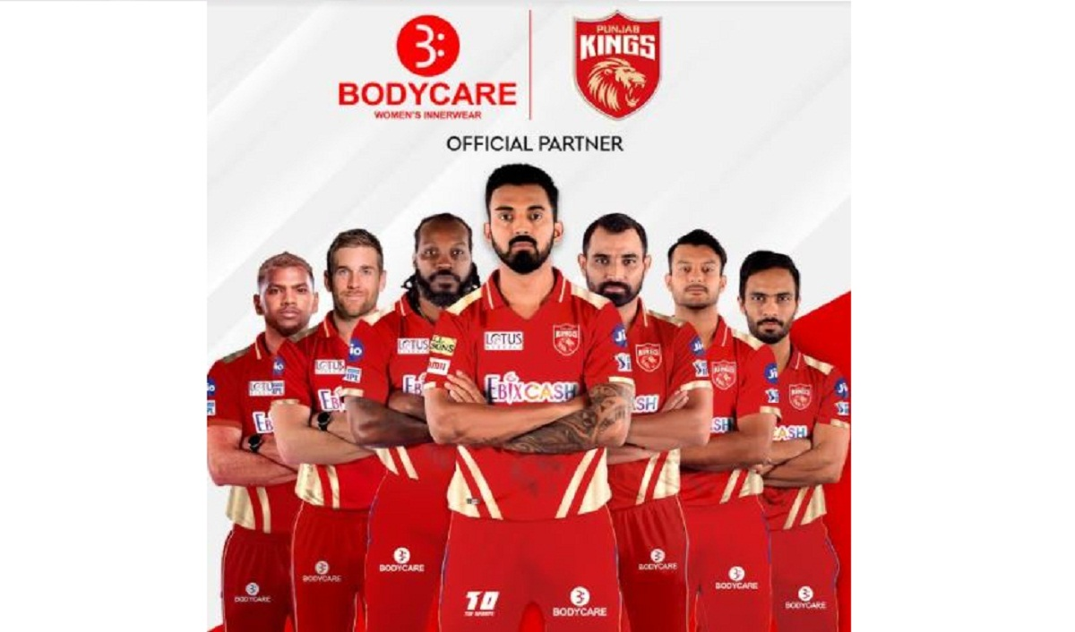 Bodycare Creations to be the Official Partner for Punjab Kings this IPL Season