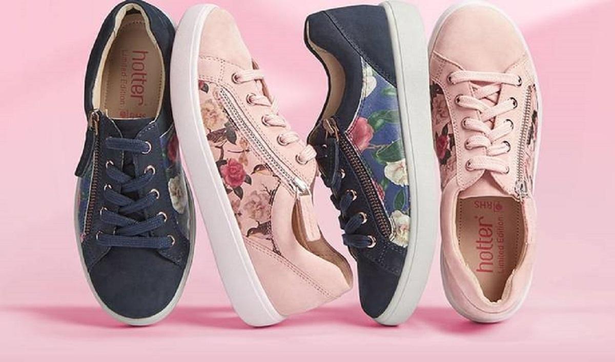 Hotter, RHS Announce New Spring/Summer Canvas Shoe Range