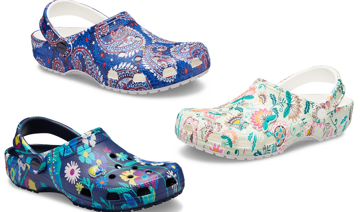 Vera Bradley, Crocs Create New Tropics-Inspired Limited-Edition Footwear Collection