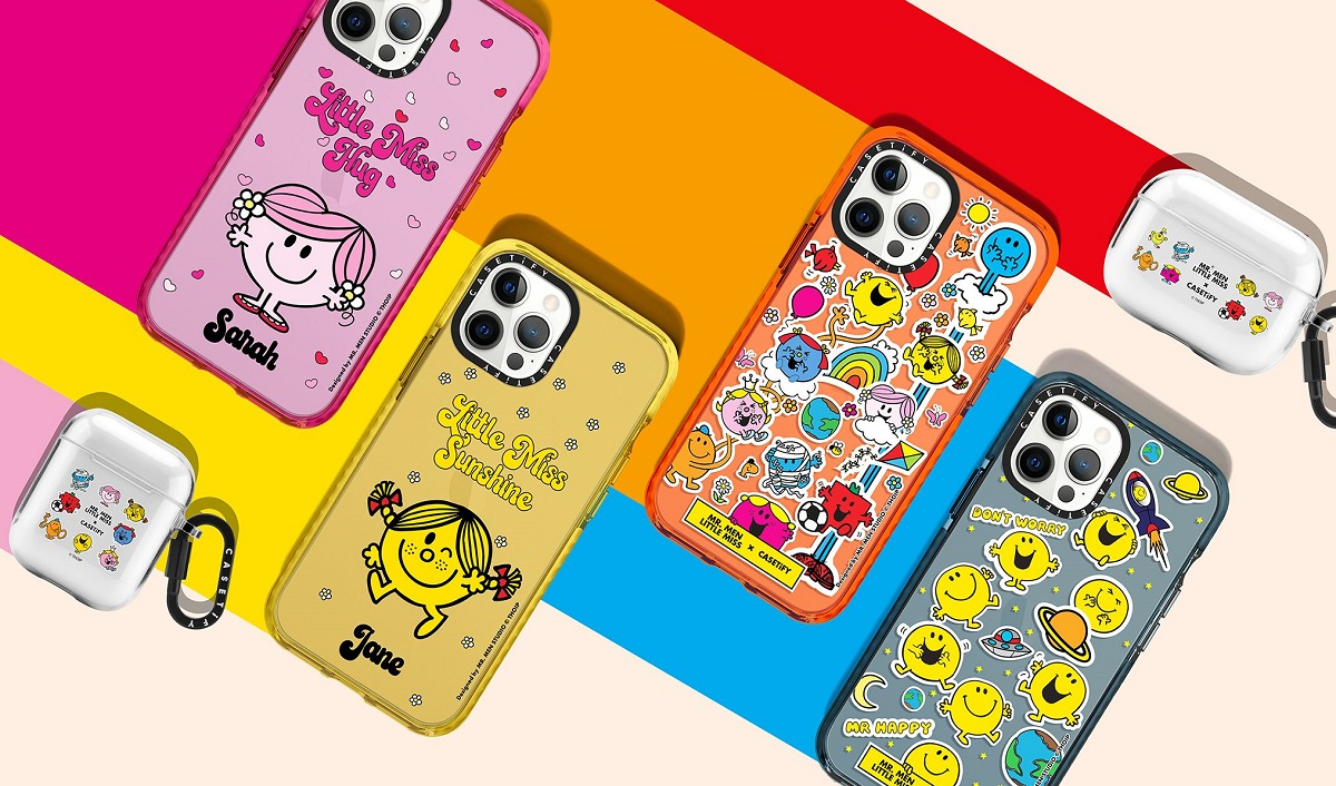 Casetify Ties Up with Mr. Men Little Miss for Tech Accessories