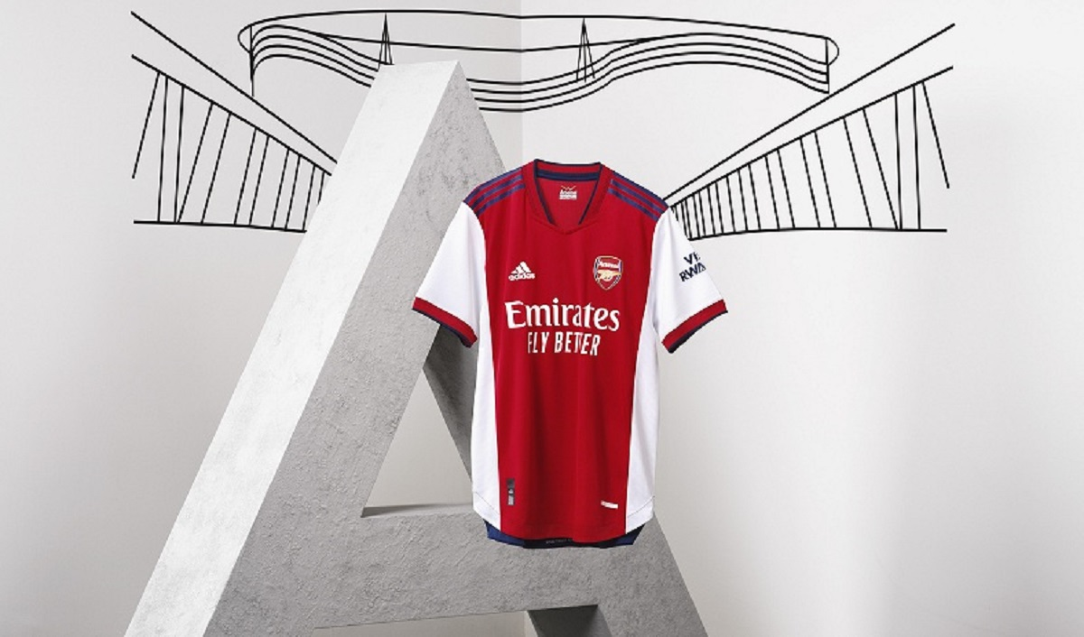 adidas, Arsenal Launch New Home Kit for 2021/22 Season