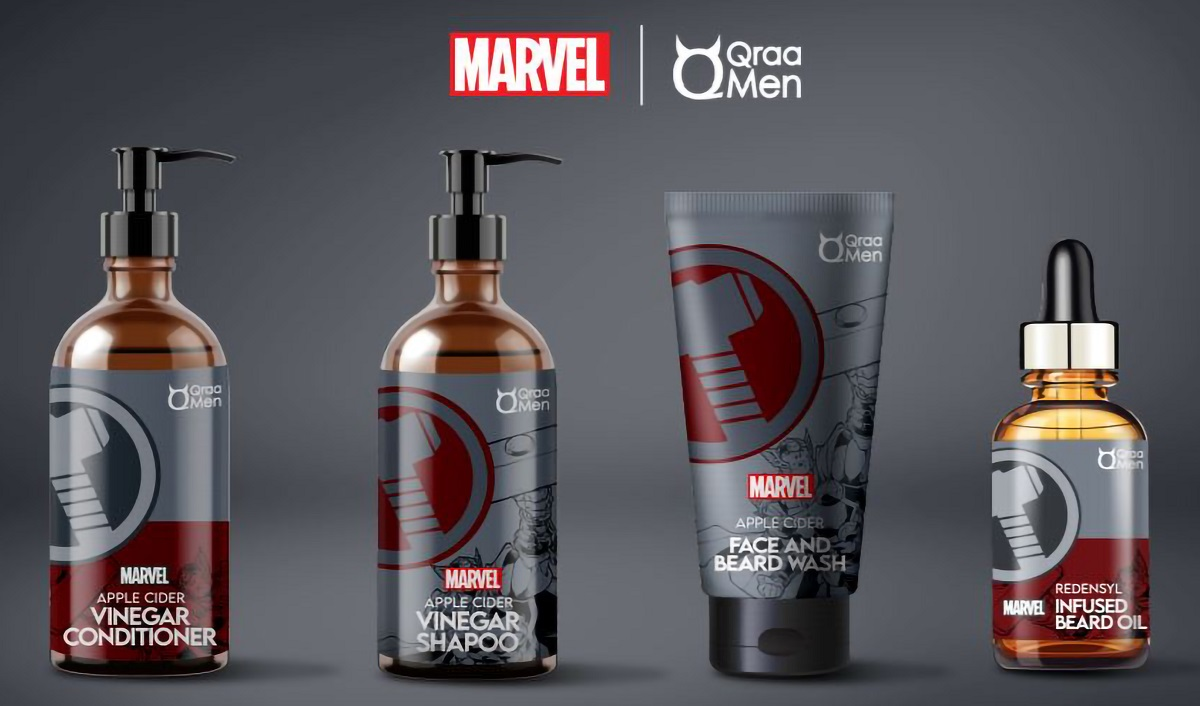 Qraa Men Launches Grooming Products Line inspired by Inspired by 'The Avengers'