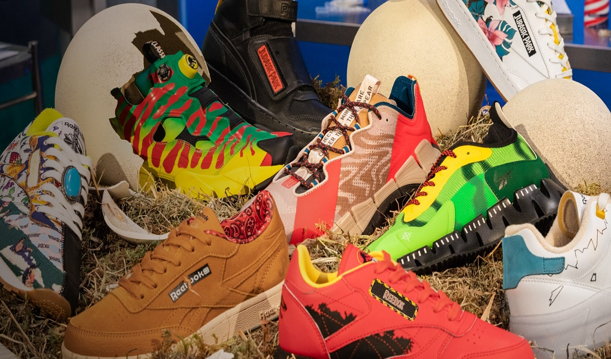 Reebok Unveils Jurassic Park Footwear and Apparel Collection