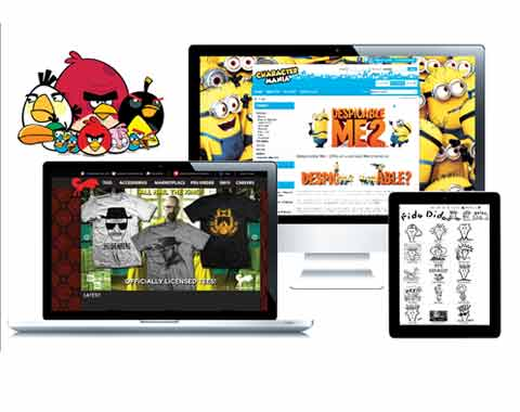 Licensing finds its mainstay online