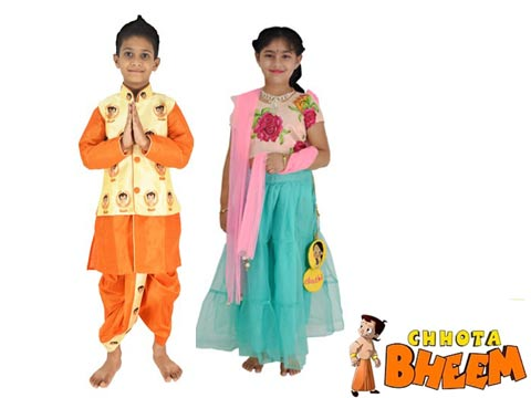 Green Gold launches Chhota Bheem ethnic wear for kids