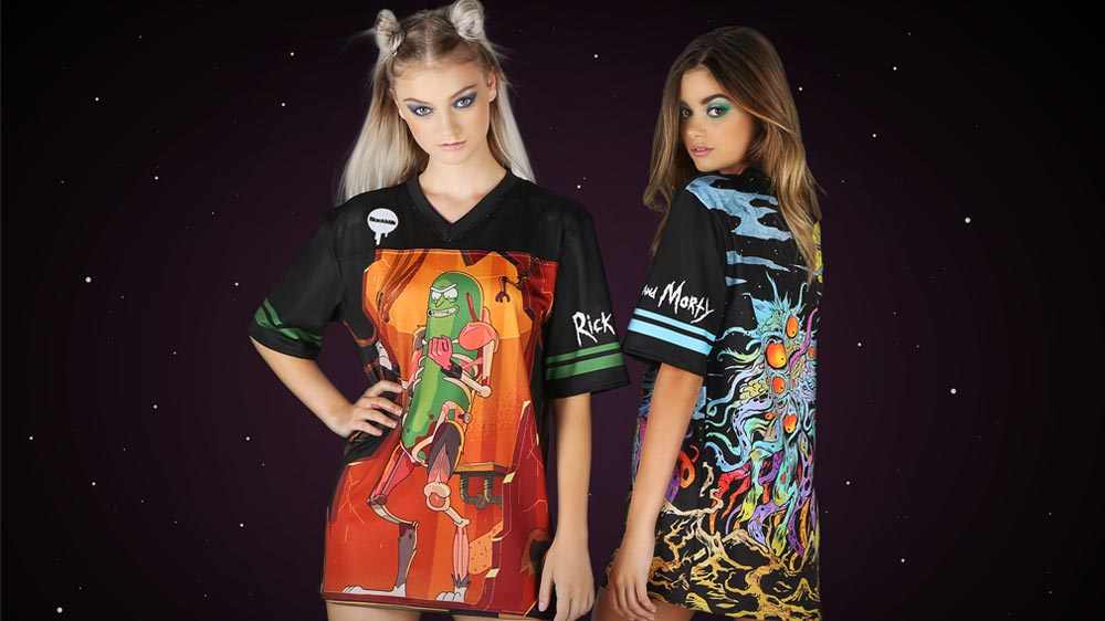 "Blackmilk Inks ""Rick and Morty"" Deal For New Clothing Range"