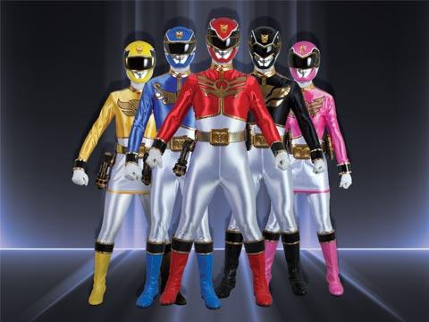 Power Rangers! Assemble!