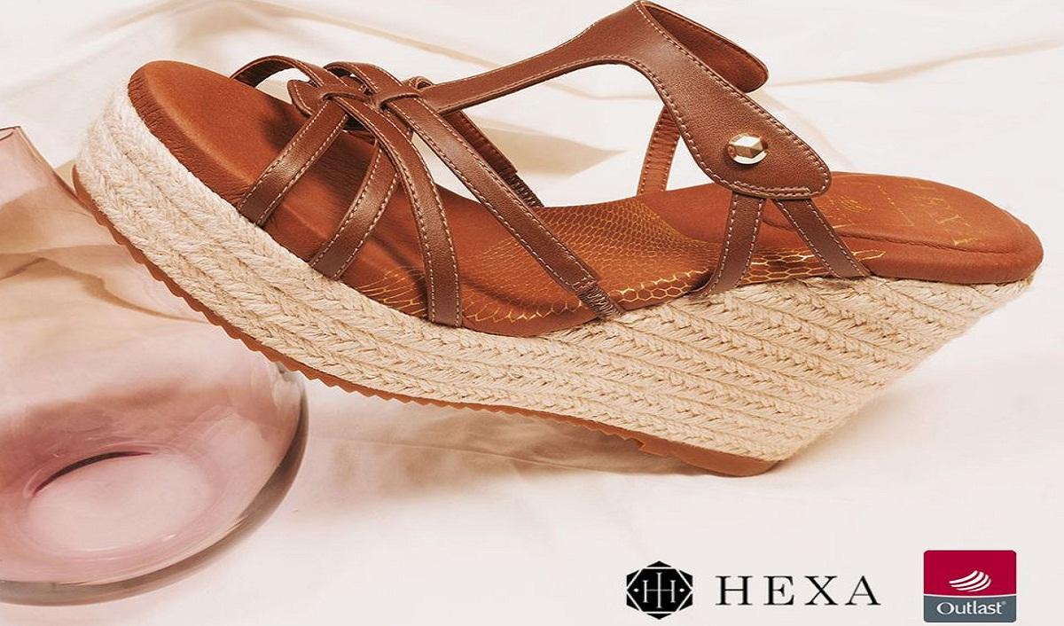 HEXA Introduces New Footwear Line Using Outlast Technology