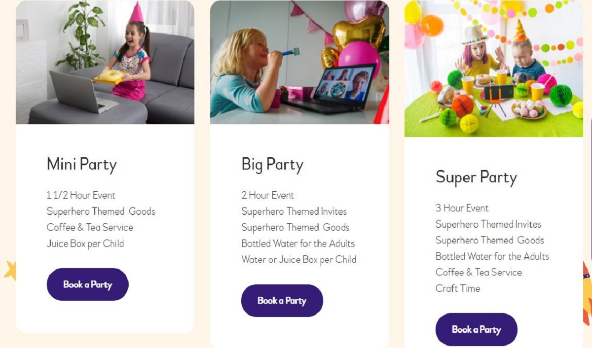 Kidofied launched as a one-stop online destination for hosting virtual superhero & princess themed parties