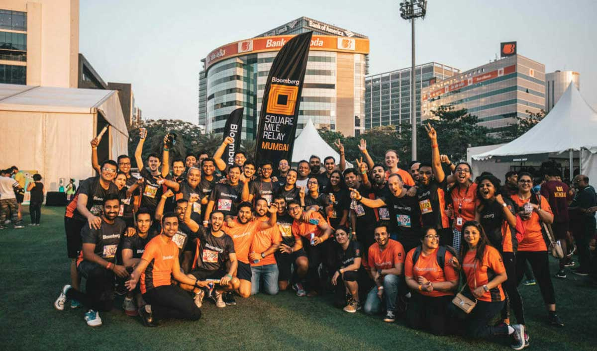 Bloomberg Square Mile Relay to return to Mumbai in 2020