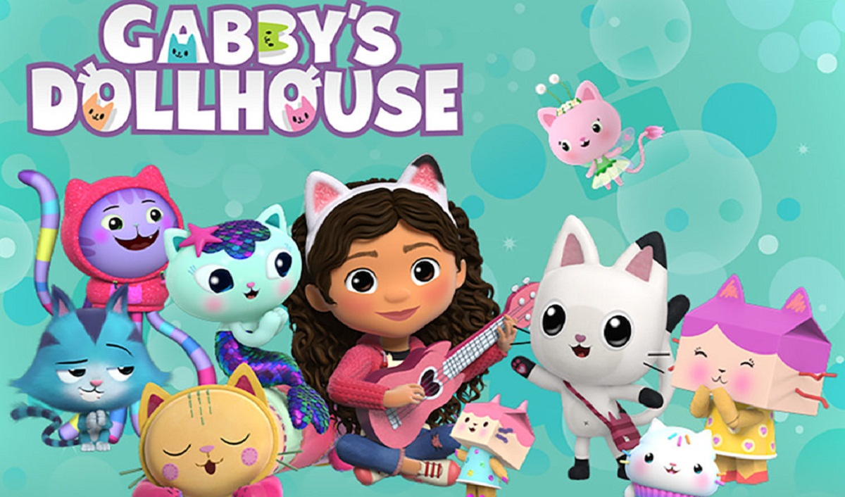 Spin Master Launches New Licensed Preschool App Gabby's Dollhouse