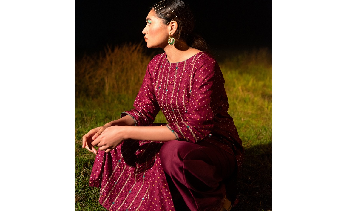 Naina Jain's New Line Of Ensembles Reimagines The Art Of Bandhani