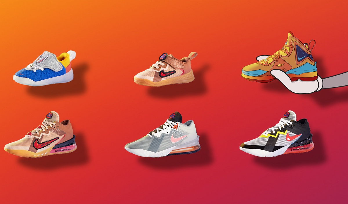 NIKE X Space Jam: A New Legacy Collection Launched