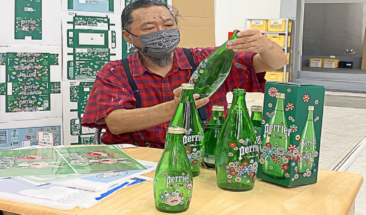 Perrier announces a new collaboration with renowned artist Takashi Murakami