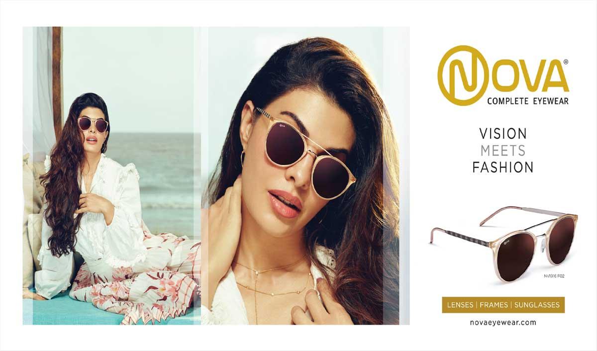 Nova Eyewear gives a sneak peek into its 2020 campaign with Jacqueline Fernandez