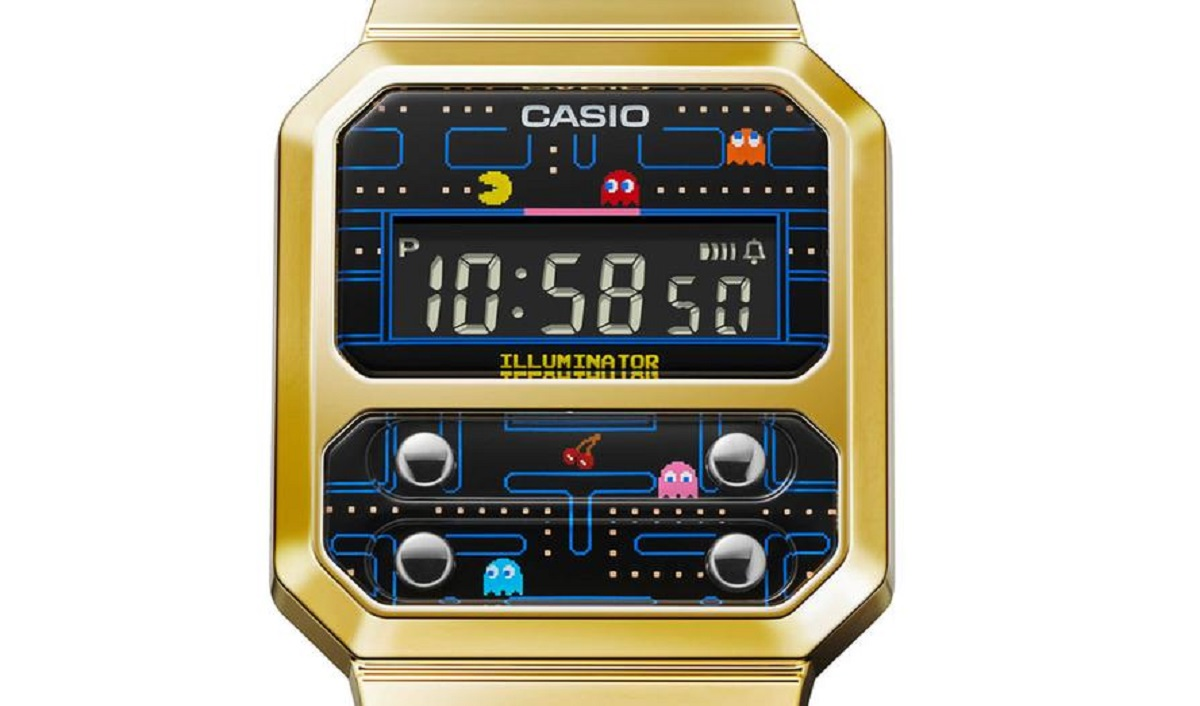 Casio Launches Pac-Man Watch
