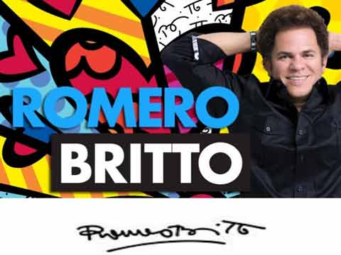 Britto's art to suit Indian market sensibilities