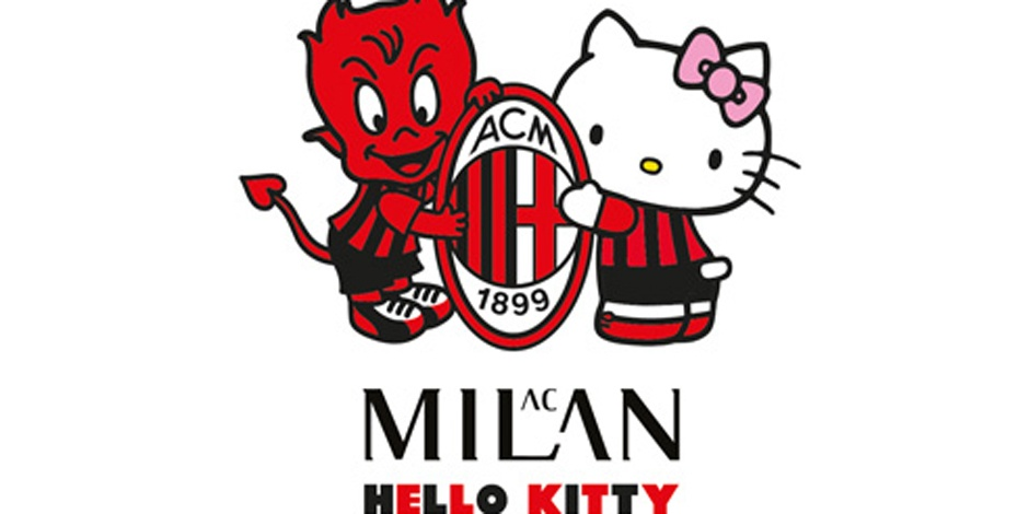 Hello Kitty teams with AC Milan for sports gear