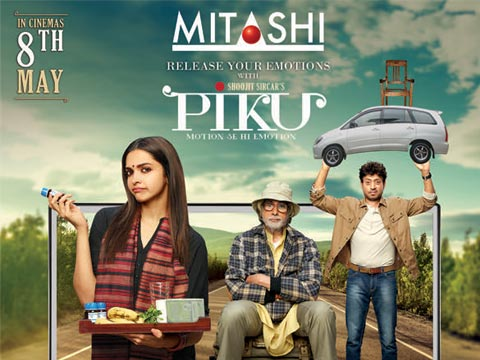 Mitashi and Piku together to entertain