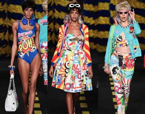 The Powerpuff Girls' fashion avatar with Moschino