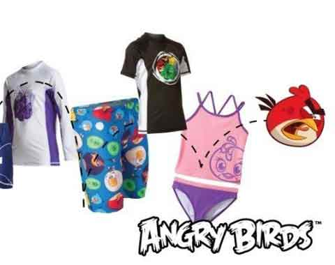 Angry Birds line of aquatics products