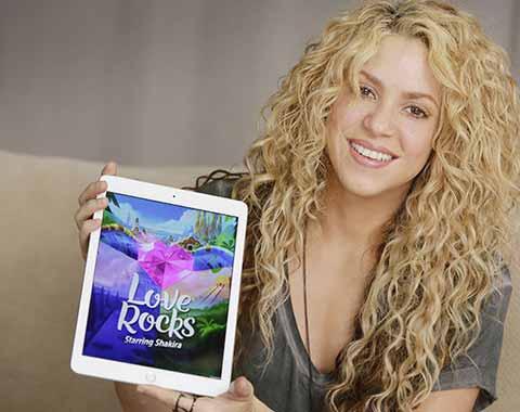 Rovio's Love Rocks with Shakira