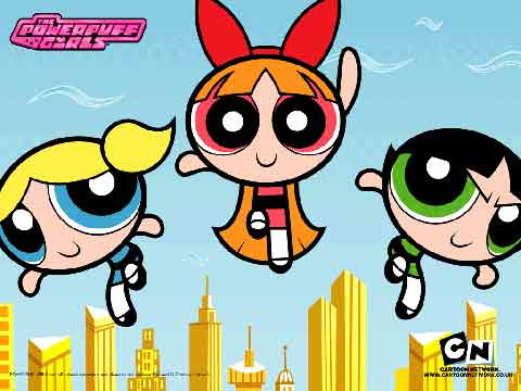 Powerpuff Girls enter social messaging with LINE