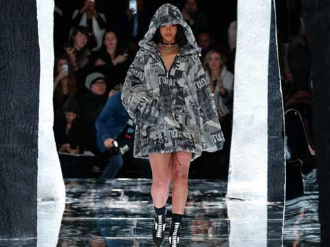 Rihanna tunes Puma clothing line