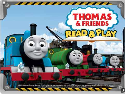 Mattel Launches 'Thomas' Learning App