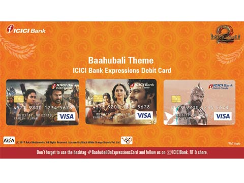 This is how ICICI bank is encashing upon Baahubali 2