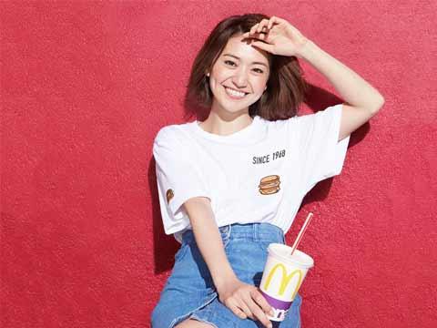 McDonald ties up with Japanese fashion brand Beam