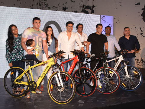 Salman Khan's Being Human forays into e-cycles