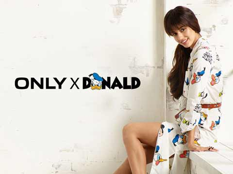 ONLY Launches Donald Duck collection