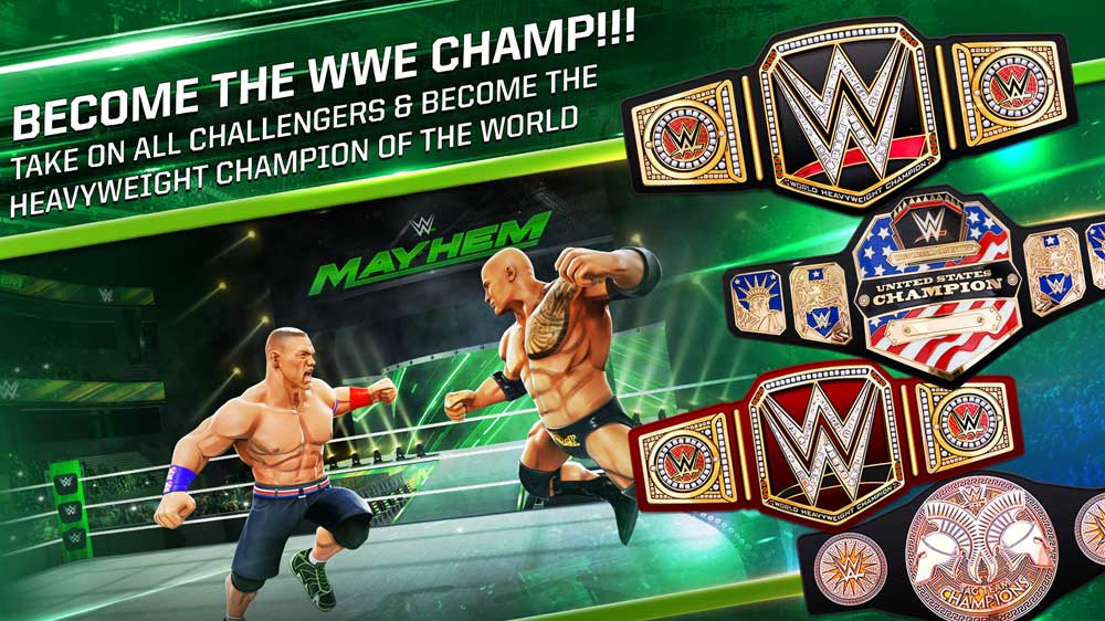 WWE joins force with Reliance Games to launch WWE Mayhem on mobile