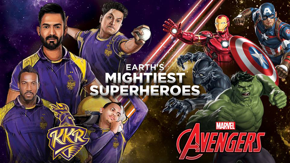 Marvel's Avengers & KKR join forces for special edition merchandise