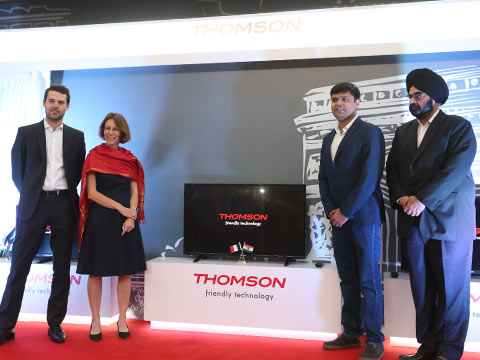 French brand Thomson names SPPL licensee for TVs in India