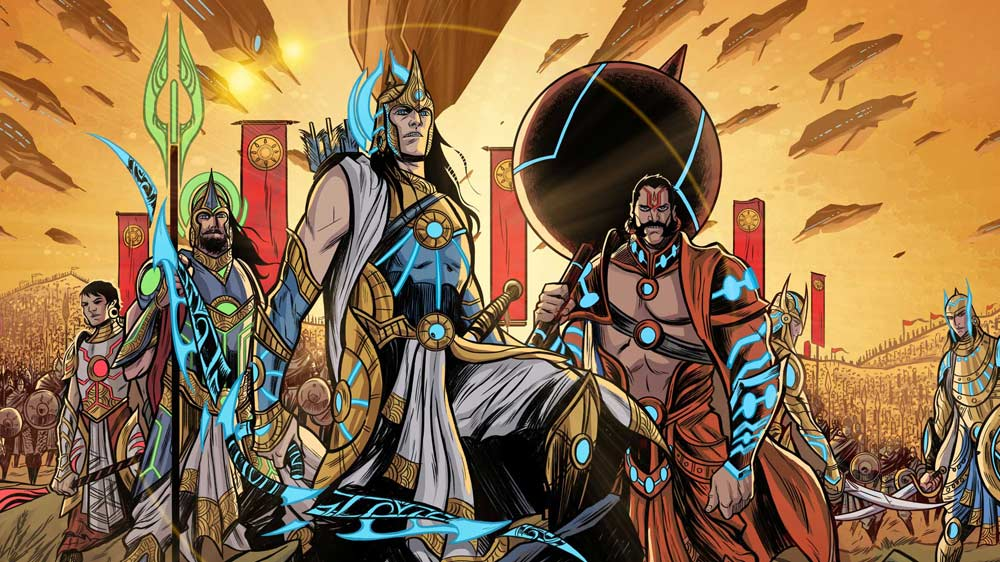 "Graphic India joins forces with Sharechat to release ""18 days: The Mahabharata"" comic series"