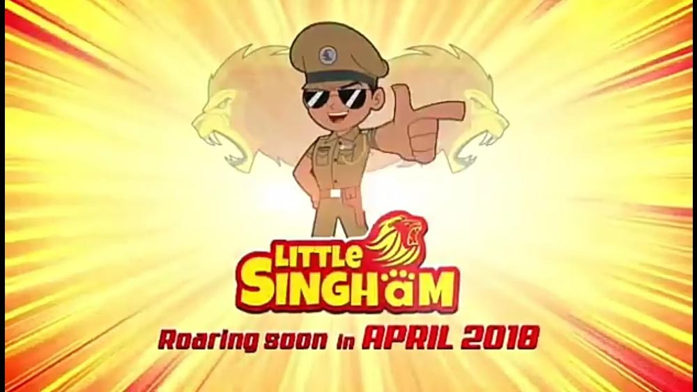 Singham franchise extends to kid's genre with Little Singham series